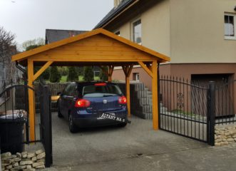 wiata garażowa