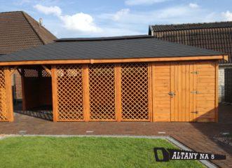 altana plus domek 8×4