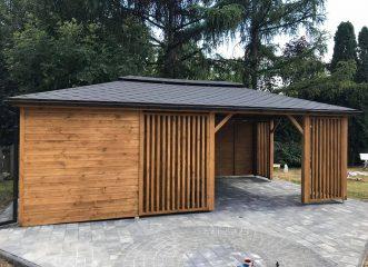 altana mielno+domek 2w1 7×4